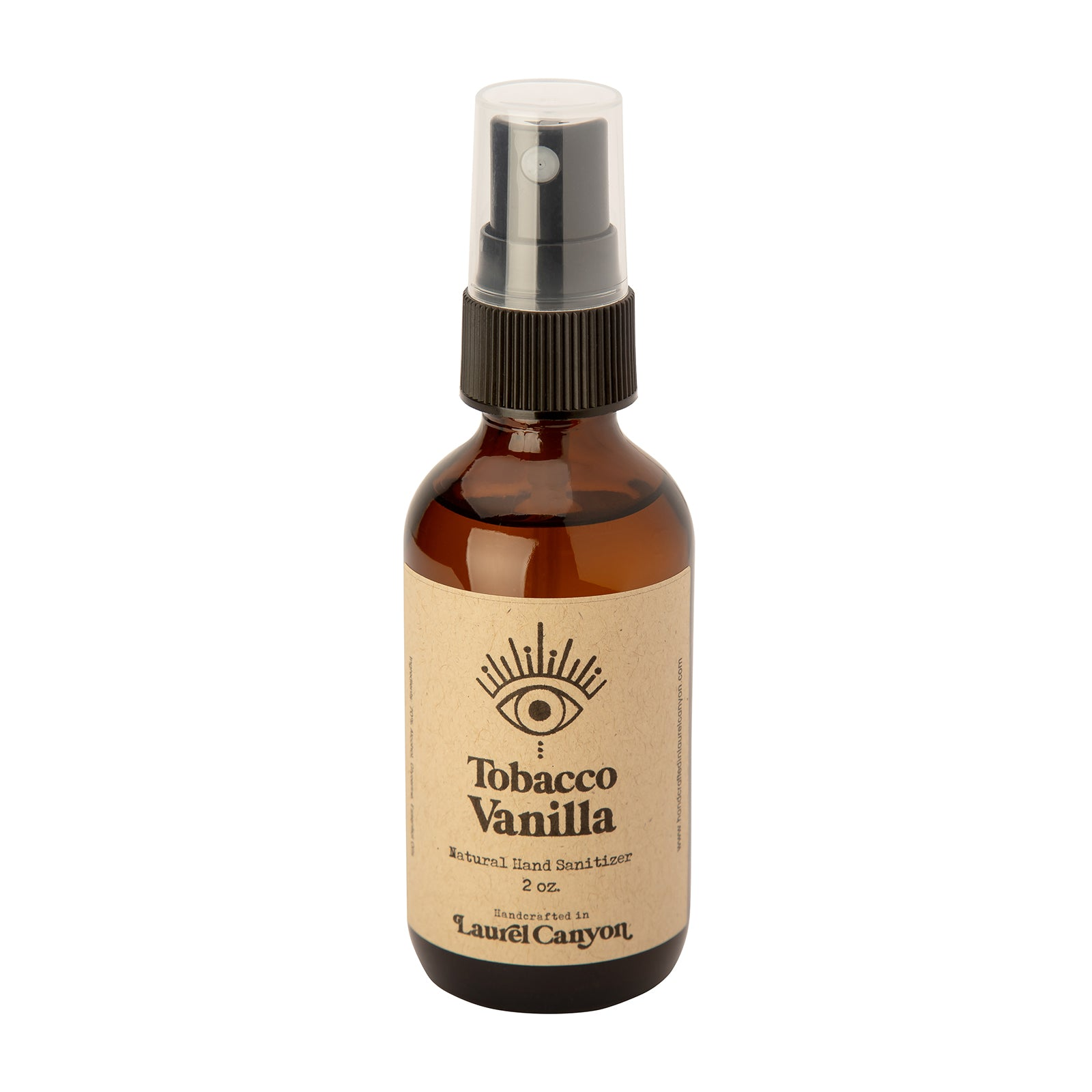Handcrafted In Laurel Canyon Hand Sanitizer - Tobacco Vanilla - Home & Decor - Broken English Jewelry