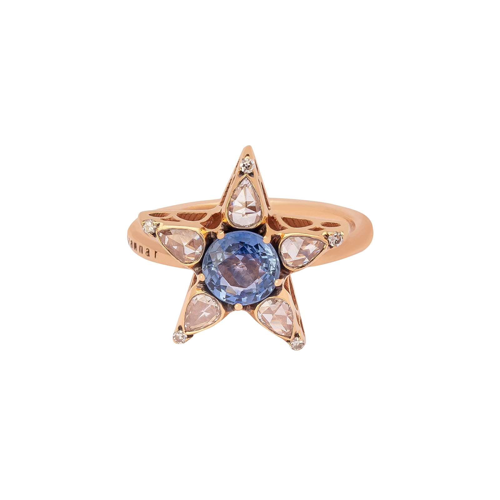 Selim Mouzannar Istanbul Ring - Sapphire - Rings - Broken English Jewelry
