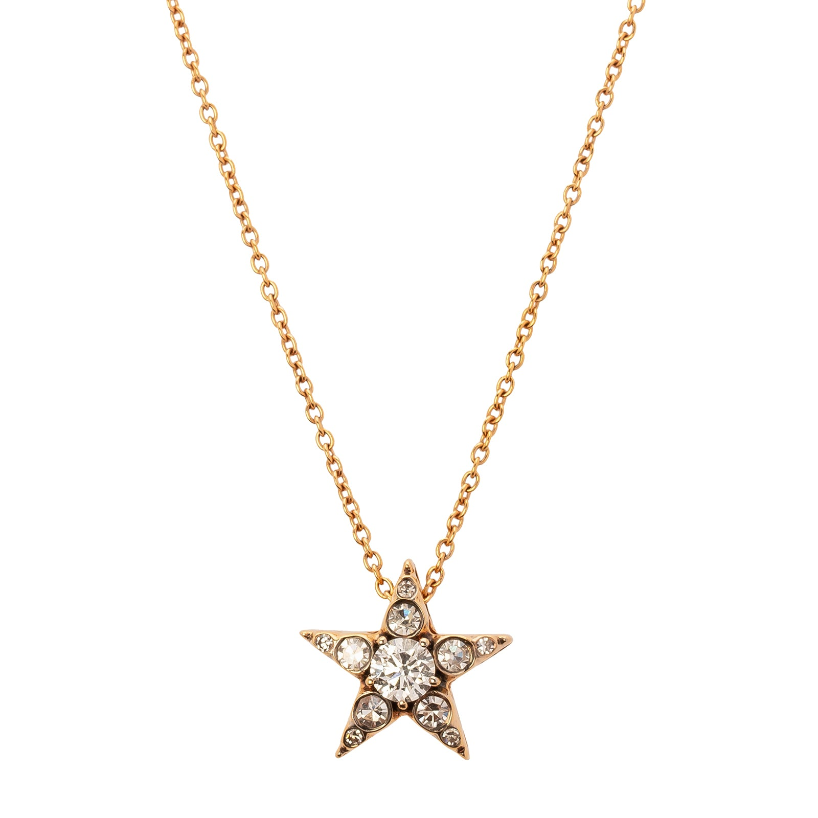 Selim Mouzannar Istanbul Star Necklace - White Diamond - Necklaces - Broken English Jewelry