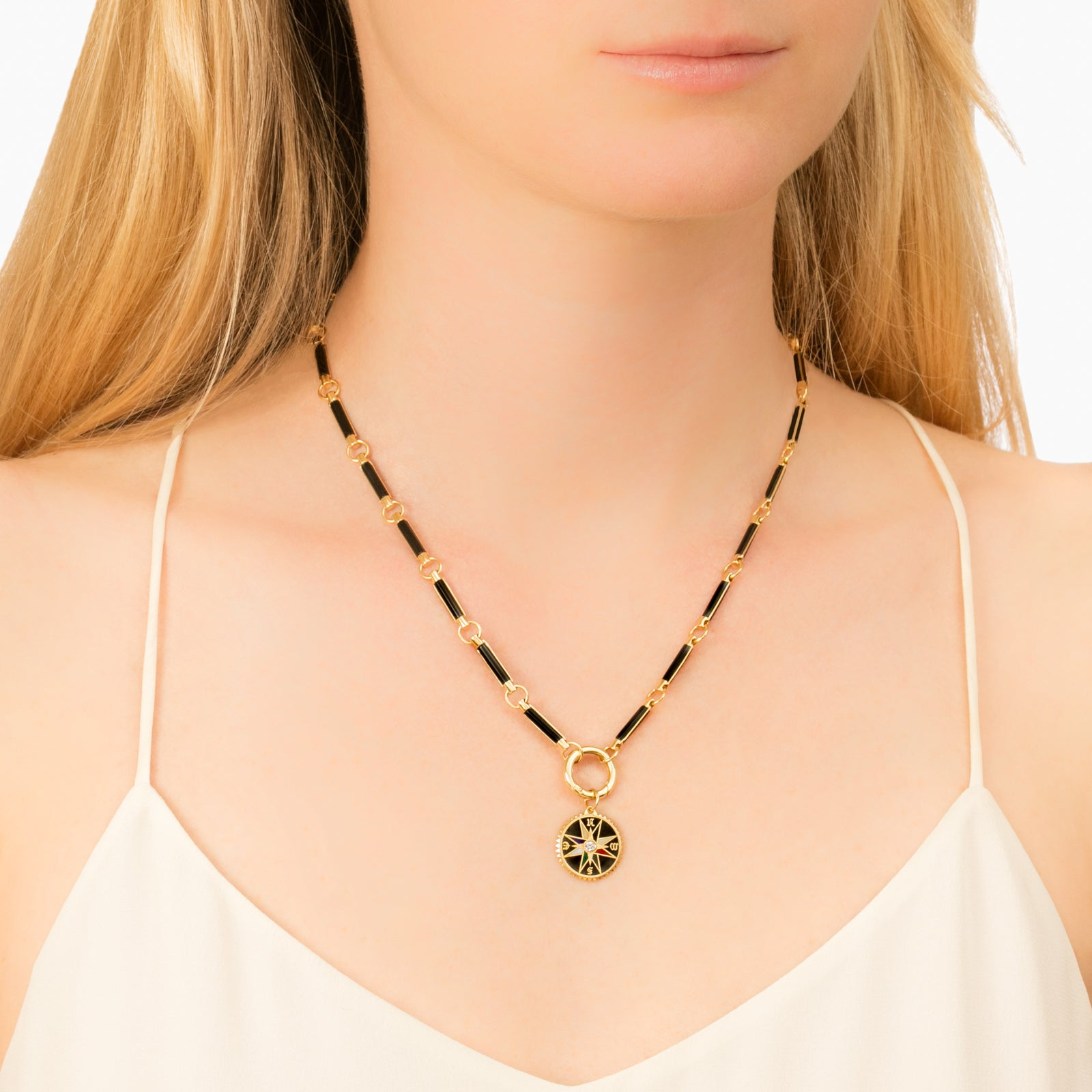 Onyx Element Stone Choker - Foundrae - Necklaces | Broken English Jewelry