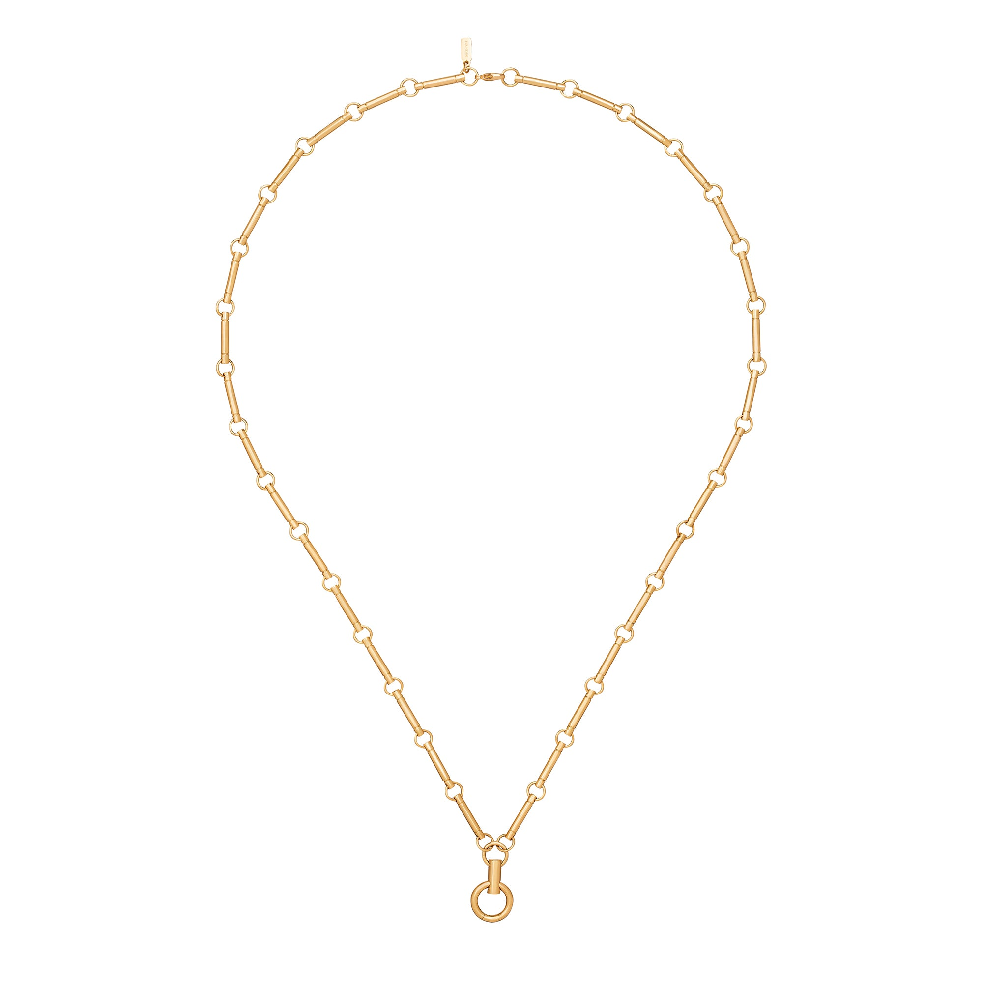 Yellow Gold Element Chain - Foundrae - Necklaces | Broken English Jewelry