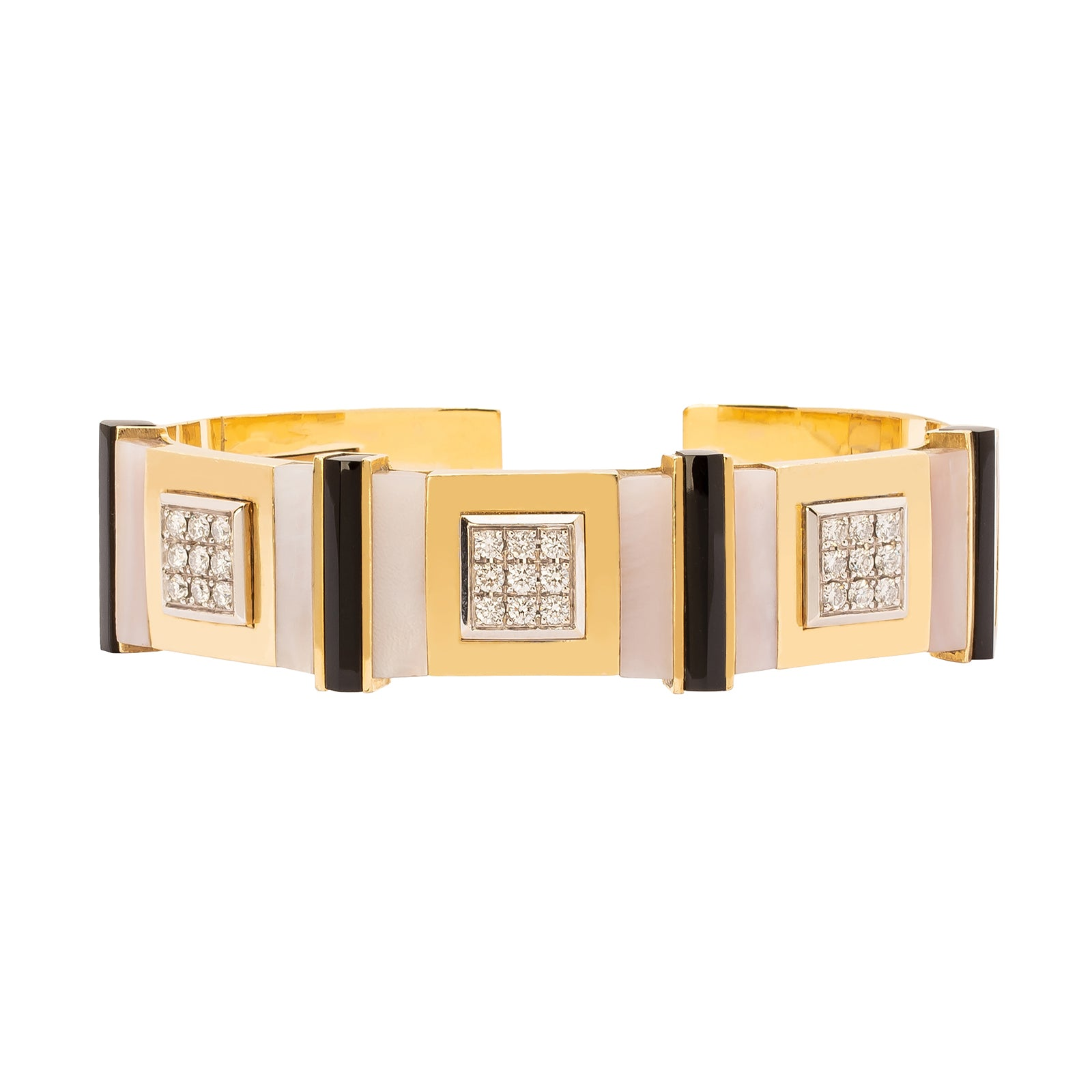 Jenna Blake Deco Cuff - Bracelets - Broken English Jewelry