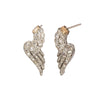 Jenna Blake Winged Diamond Earrings - Earrings - Broken English Jewelry