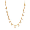 Jenna Blake Simple Diamond Fringe Necklace - Necklaces - Broken English Jewelry