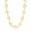 Jenna Blake Honeycomb Mid-Century Chain Necklace - Necklaces - Broken English Jewelry