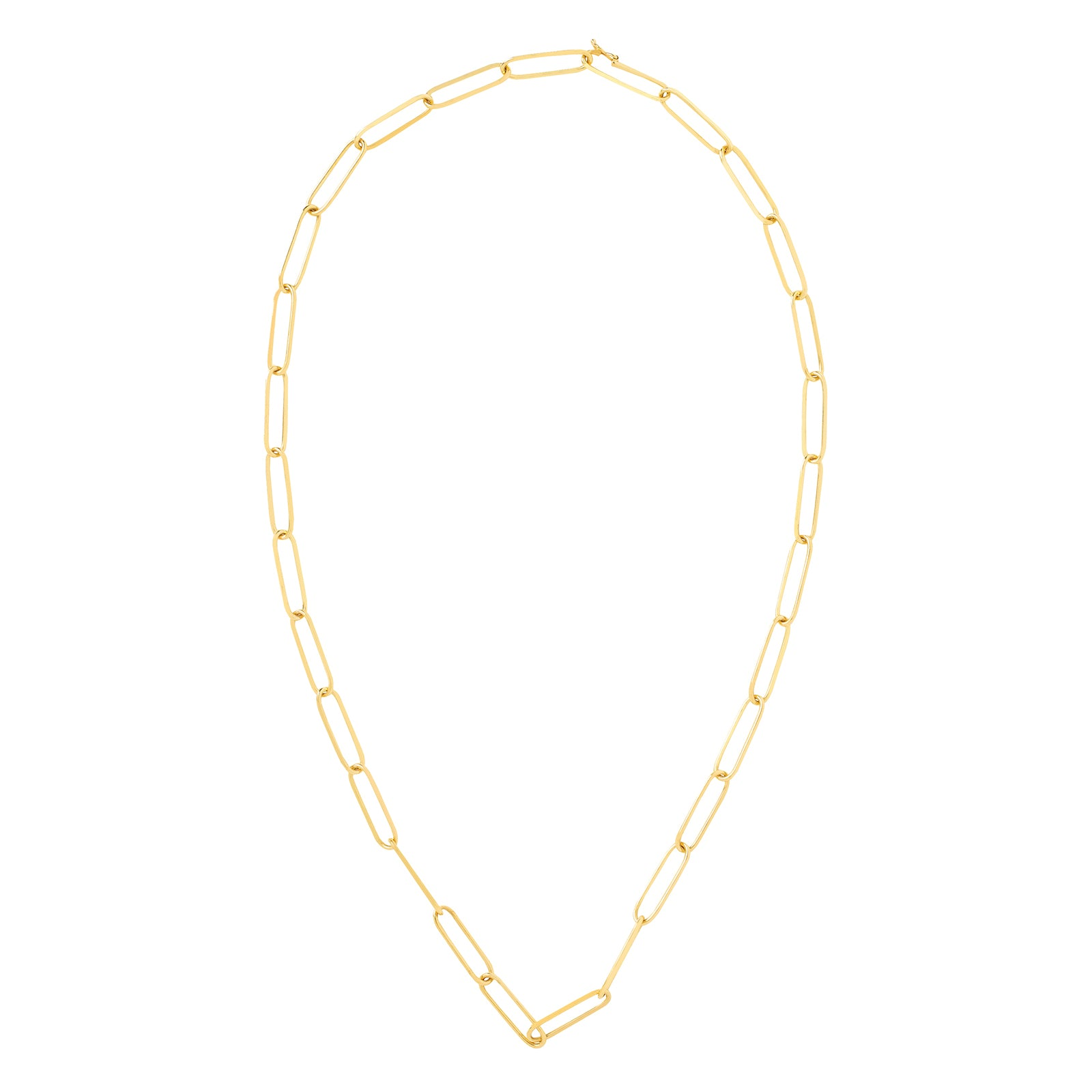 "Jenna Blake Link Chain Necklace - 20"" - Necklaces - Broken English Jewelry"