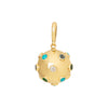 Jenna Blake Mixed Stone Ball Pendant - Charms & Pendants - Broken English Jewelry