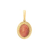 Jenna Blake Pink Scarab Pendant - Charms & Pendants - Broken English Jewelry