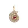 Jenna Blake Helix Shell Pendant - Charms & Pendants - Broken English Jewelry