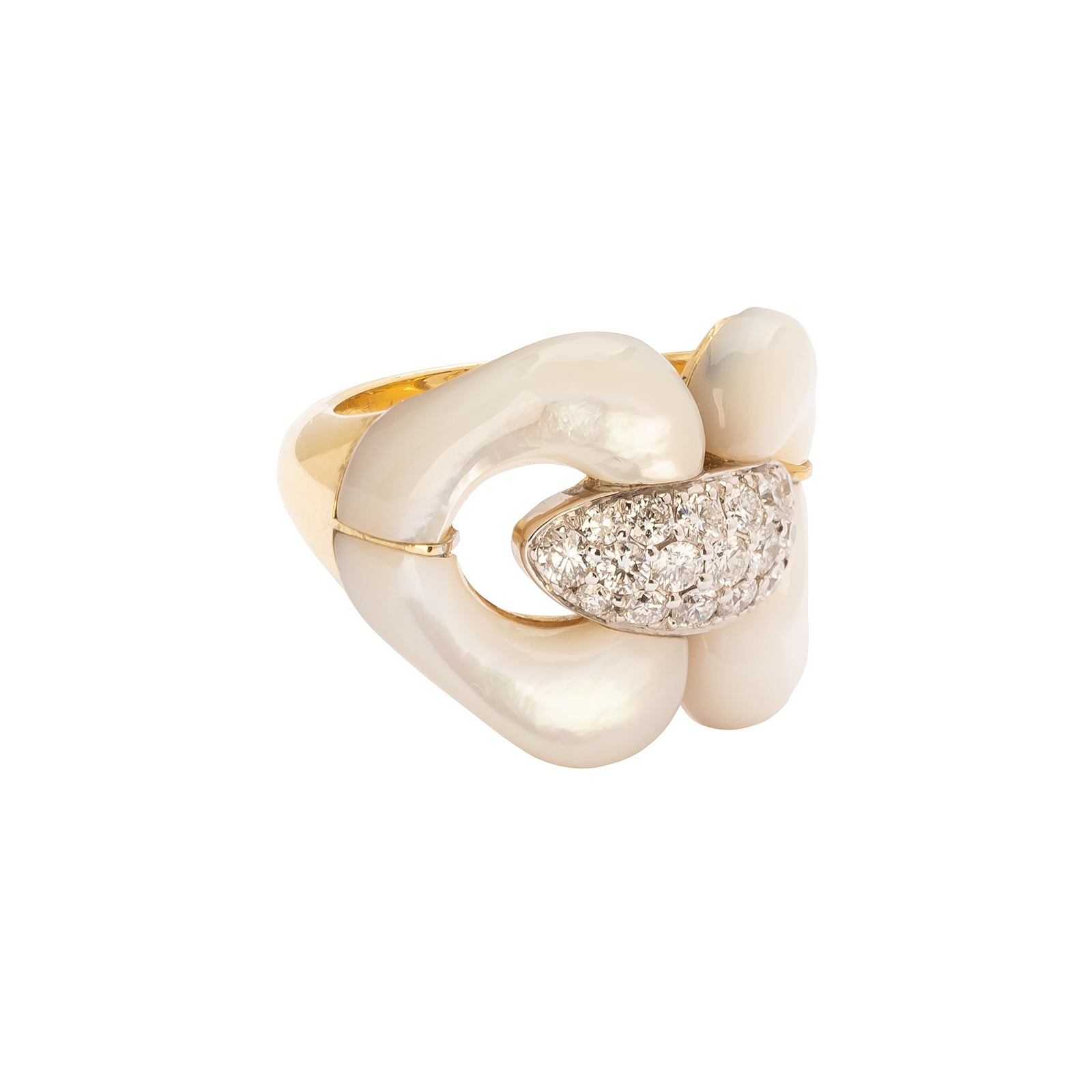 Jenna Blake Nautical Ring - Pearl - Rings - Broken English Jewelry