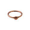 Gold Stacking Heart Ring by James Colarusso for Broken English Jewelry