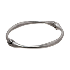 Silver Bone Bracelet by James Colarusso for Broken English Jewelry