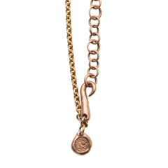 Silver Gold Forget Me Not Necklace by James Colarusso for Broken English Jewelry