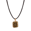 Gold Hold Fast Pendant by James Colarusso for Broken English Jewelry