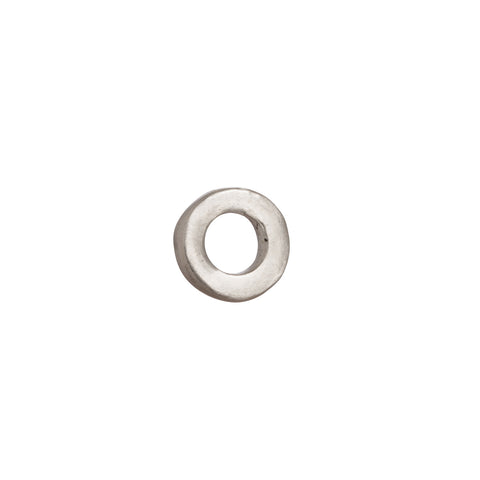 Sterling Silver Circle by James Colarusso for Broken English Jewelry