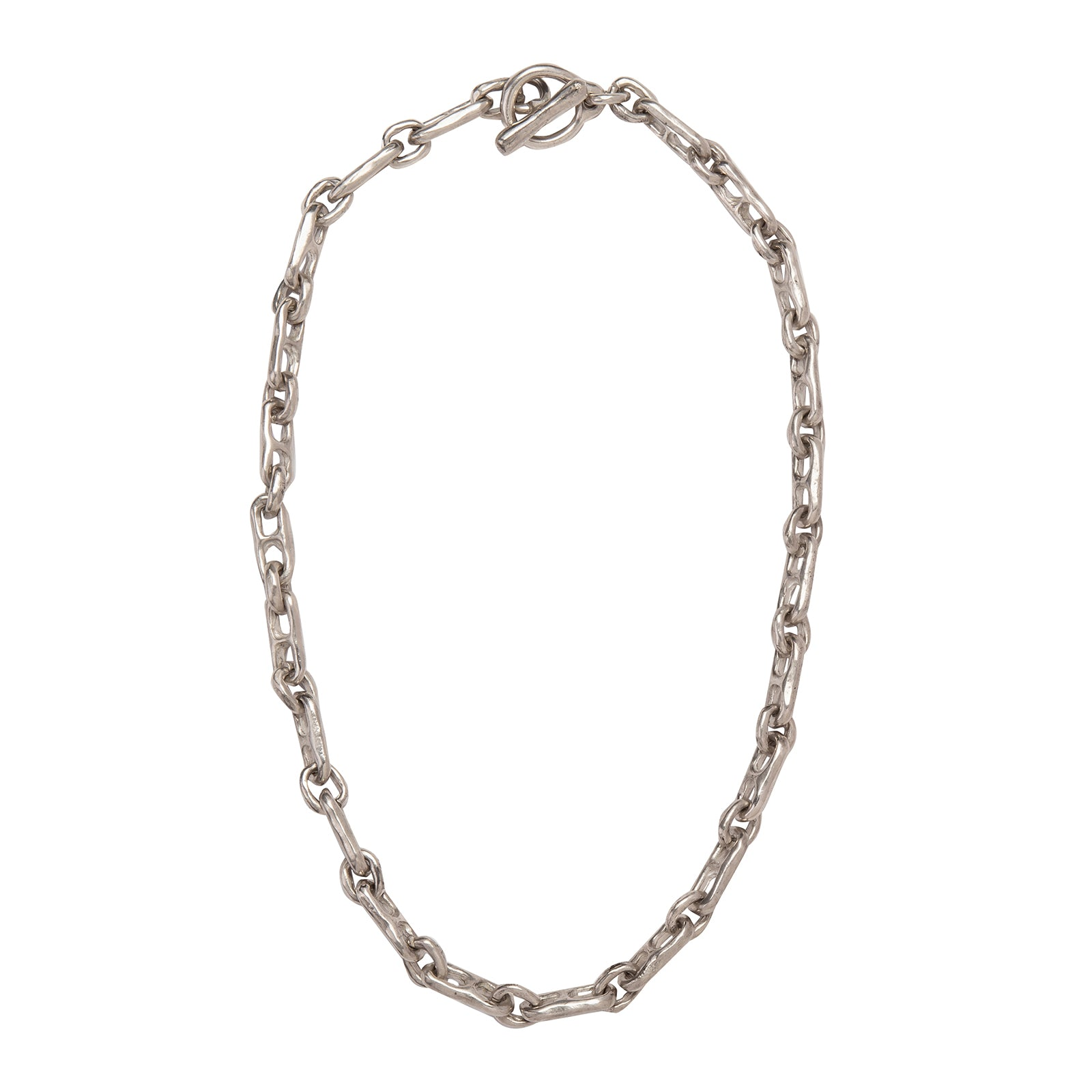 James Colarusso Double Link Chain - Silver - Necklaces - Broken English Jewelry