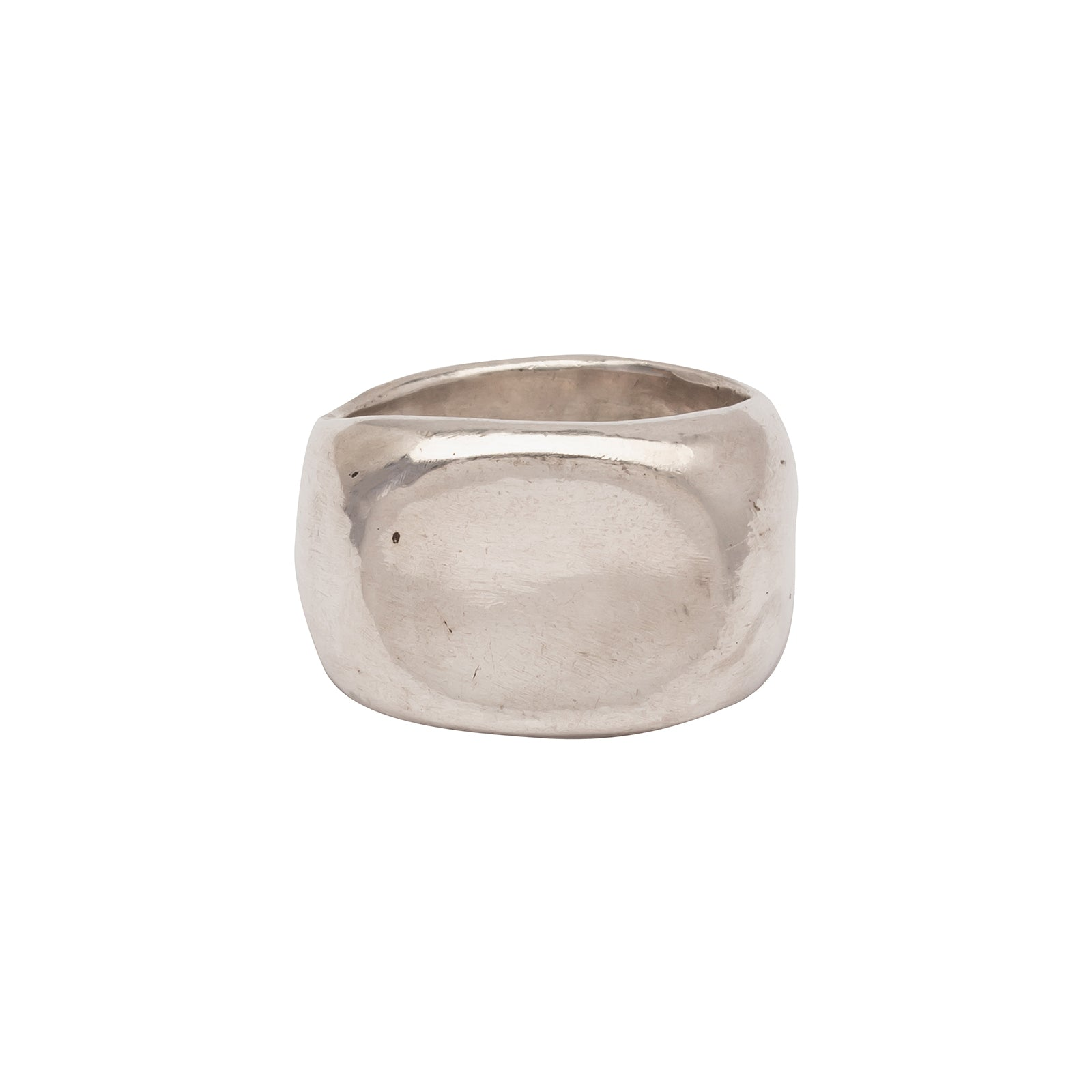 James Colarusso Small Concave Ring - Silver - Rings - Broken English Jewelry