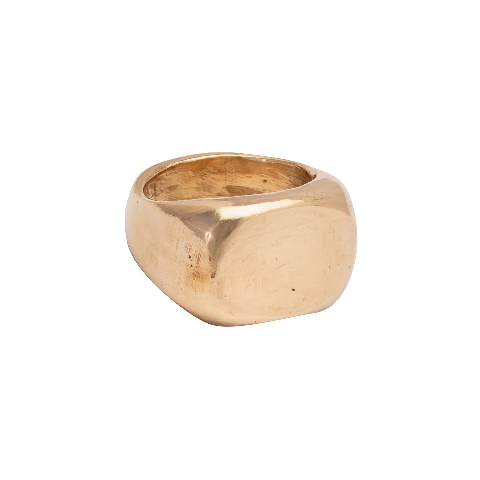 James Colarusso Small Concave Ring - Gold - Rings - Broken English Jewelry