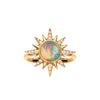 Opal Electra Ring by Jenny Dee for Broken English Jewelry