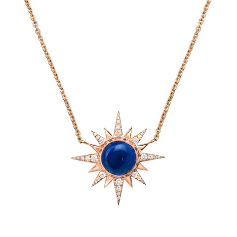 Lapis Electra Necklace by Jenny Dee for Broken English Jewelry