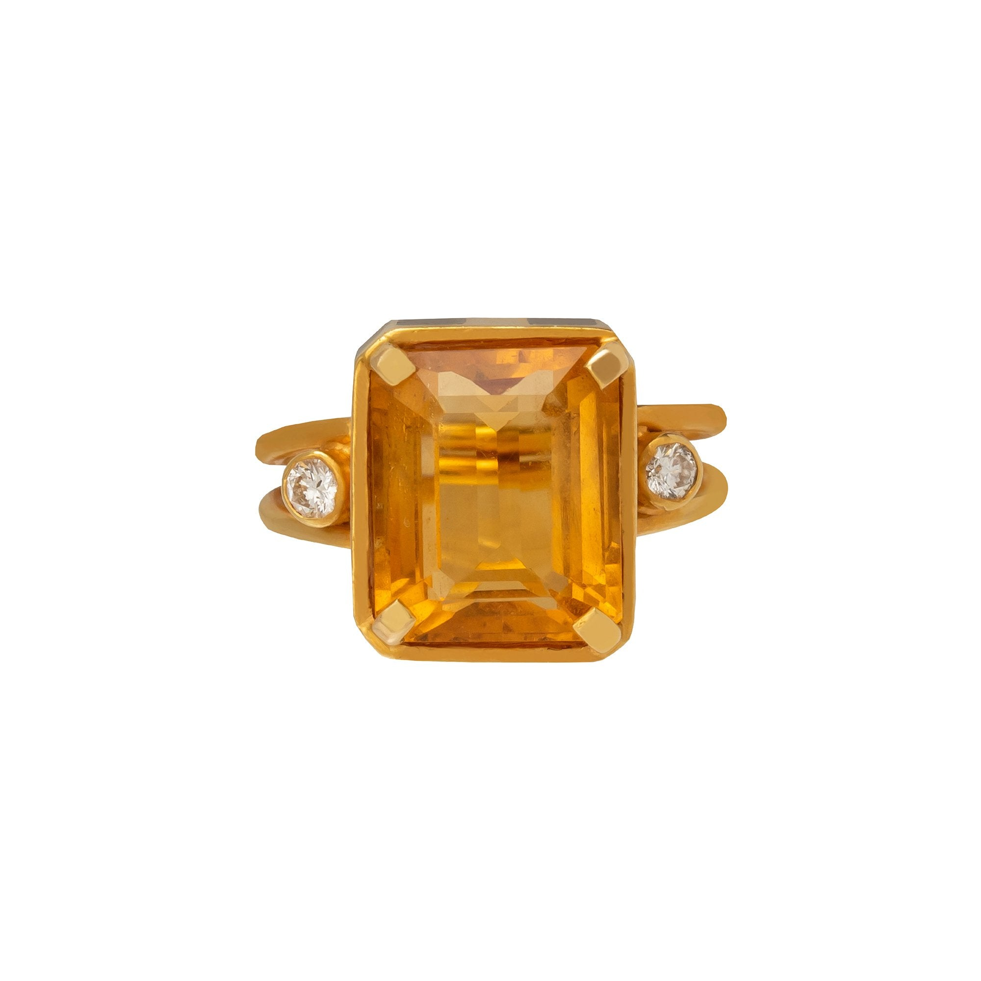 Citrine Empress Ring - Holly Dyment - Rings | Broken English Jewelry