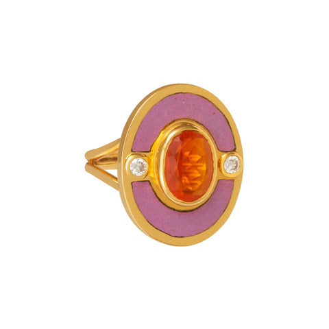 Mexican Fire Opal Eden Ring  - Holly Dyment - Rings | Broken English Jewelry