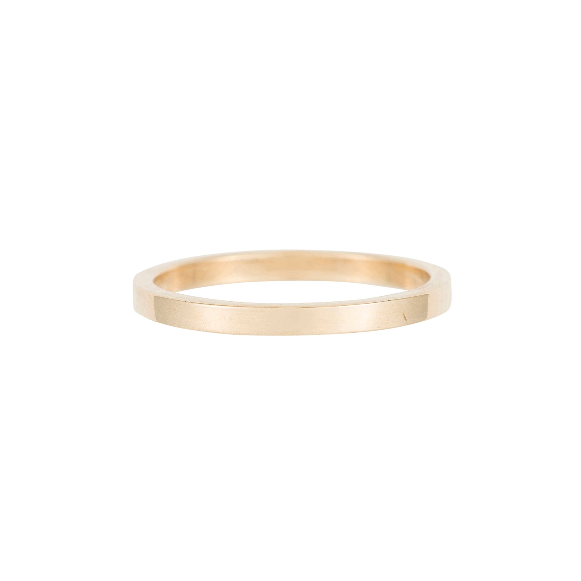 2mm Basic Band by Jennie Kwon for Broken English Jewelry