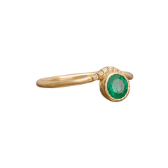Emerald Wave Ring - Jennie Kwon - Ring | Broken English Jewelry
