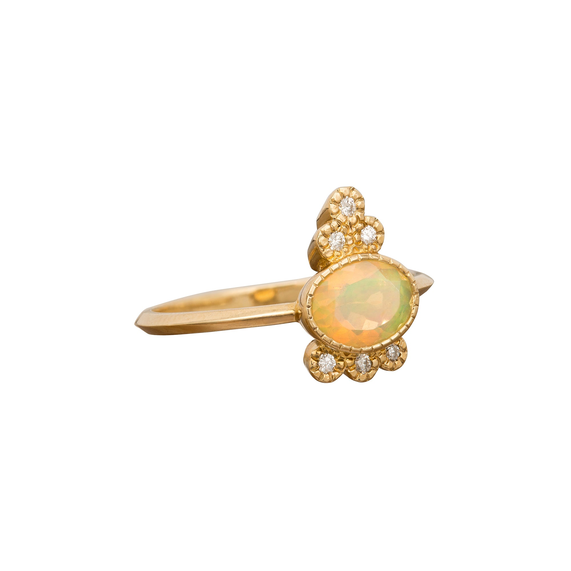 Opal Crown Ring - Jennie Kwon - Ring | Broken English Jewelry