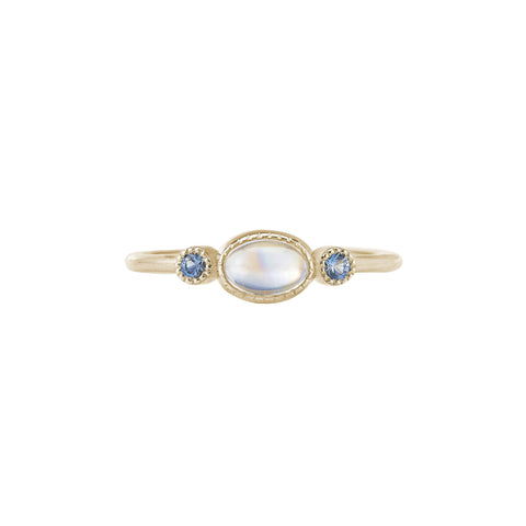 Moonstone Reese Ring - Jennie Kwon - Rings | Broken English Jewelry