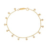 Jennifer Meyer Mini Diamond Bezel Dangle Bracelet - Bracelets - Broken English Jewelry