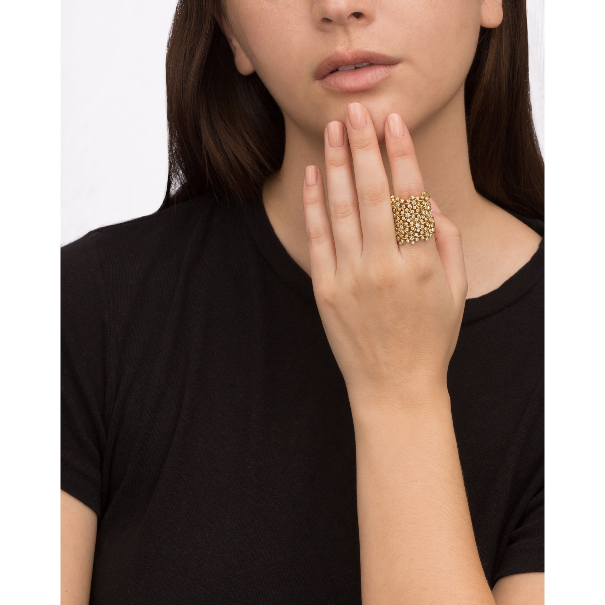 Blooms Ring by Jade Trau for Broken English Jewelry