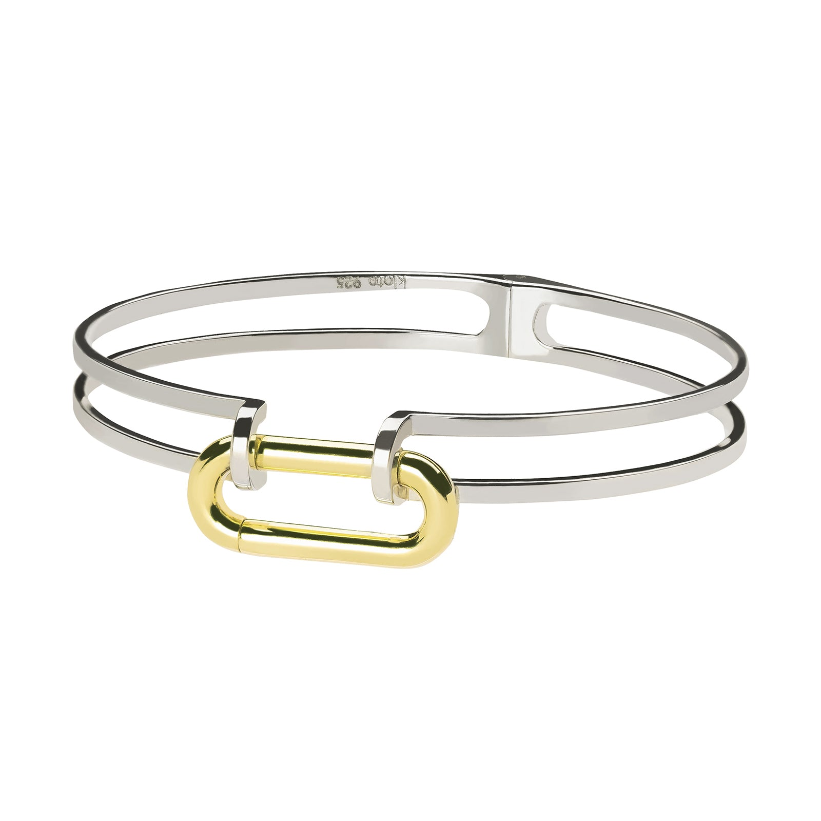 Kloto Duo Bolt Cuff - Bracelets - Broken English Jewelry