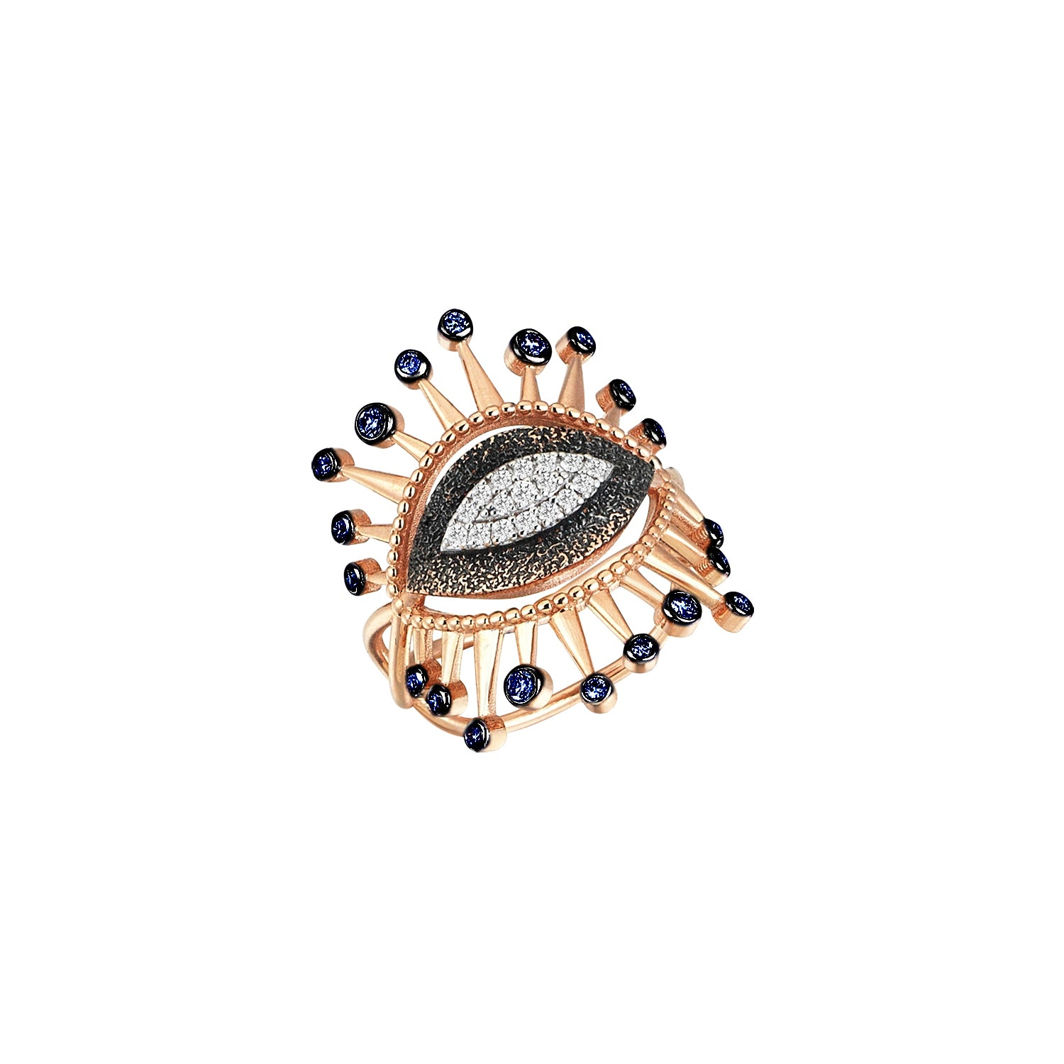 10th Eye Eternal Vision Pinky Ring by Kismet for Broken English Jewelry