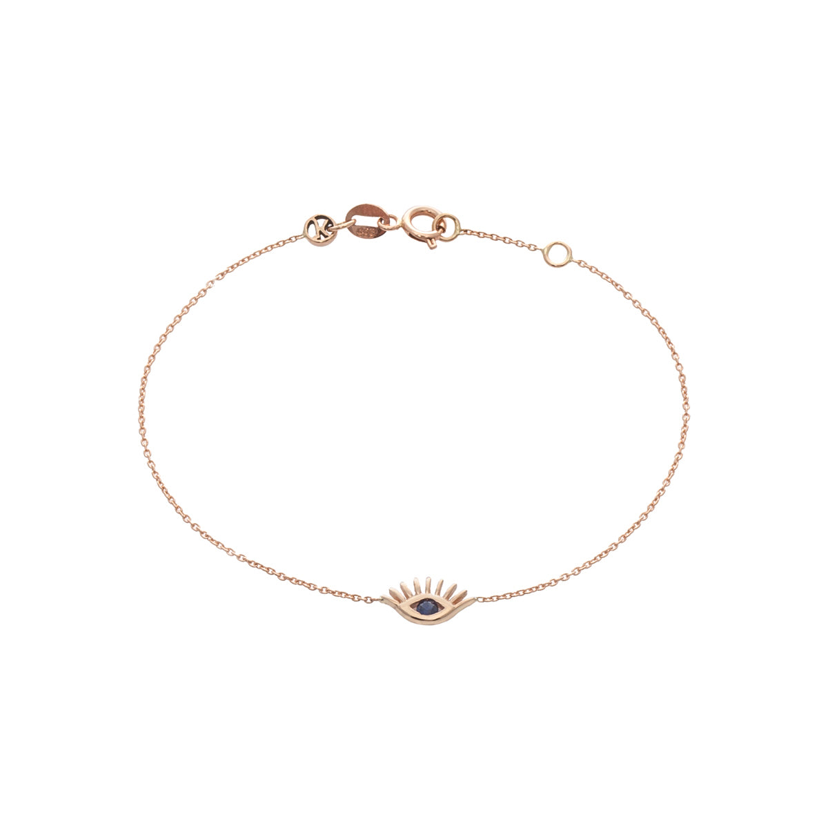 Evil Eye Bracelet by Kismet for Broken English Jewelry