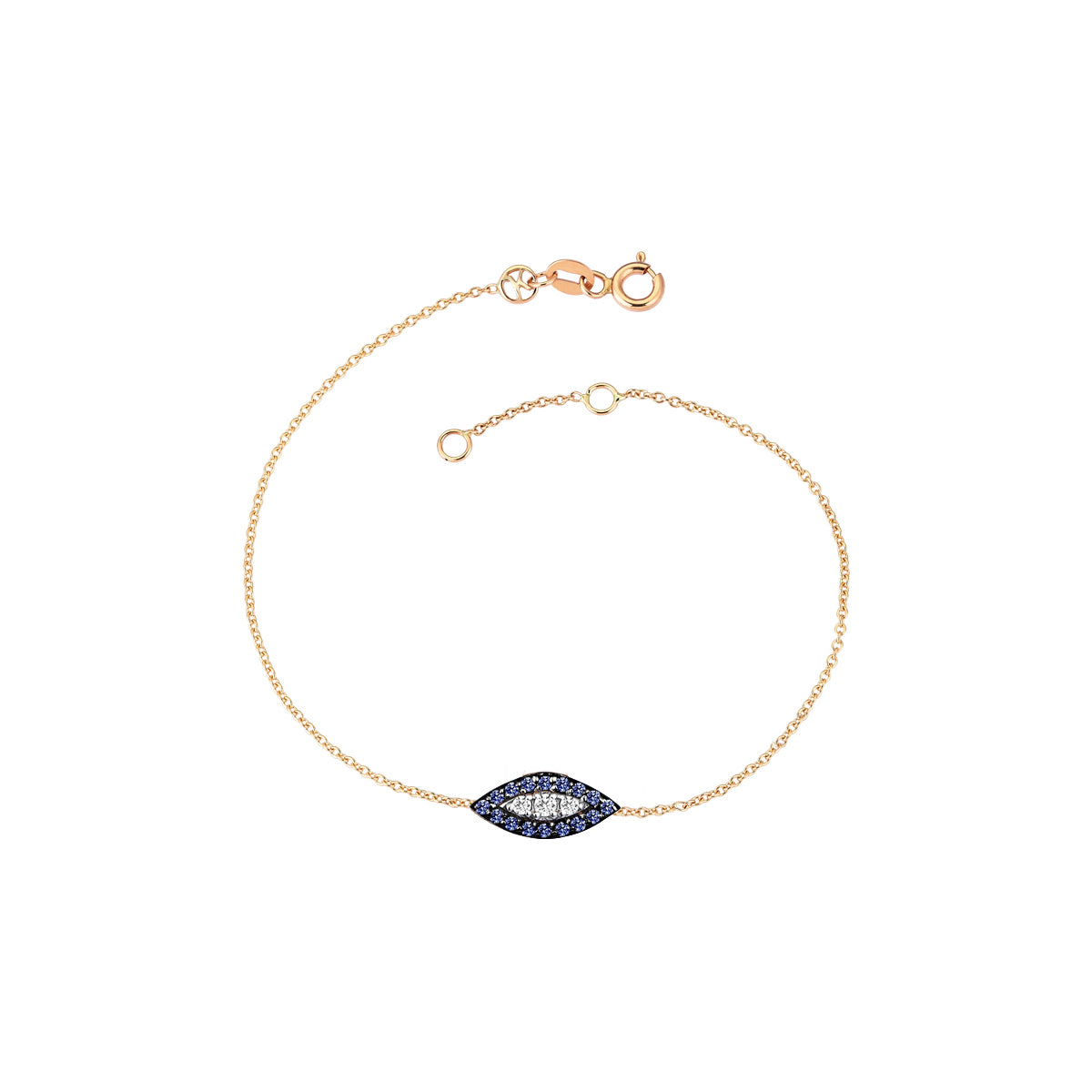 Sapphire 10th Eye Haven Bracelet by Kismet for Broken English Jewelry
