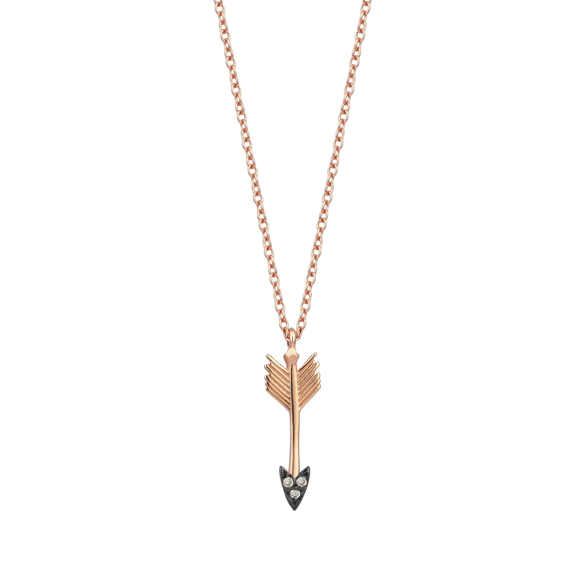 Mini Arrow Necklace by Kismet for Broken English Jewelry