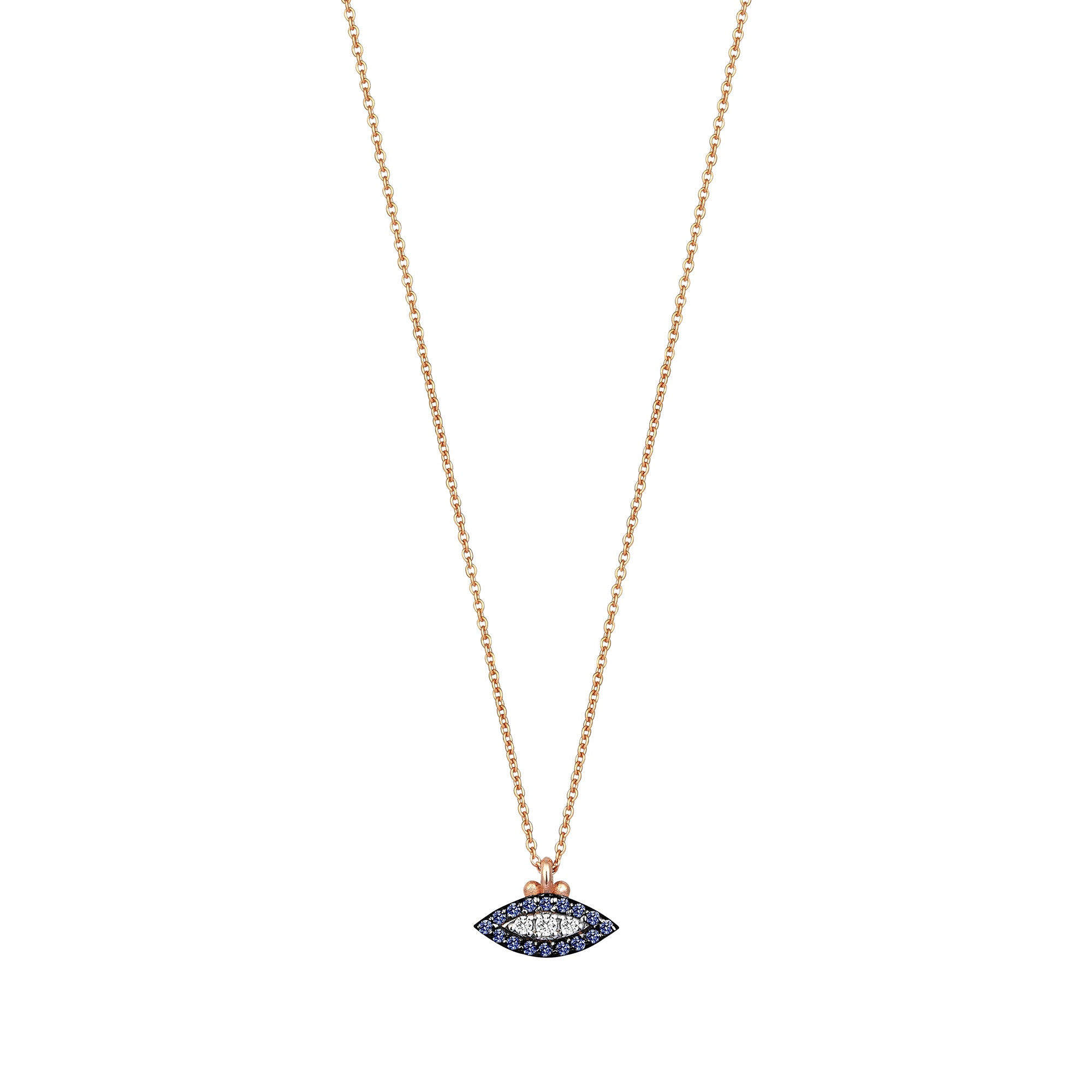 Sapphire 10th Eye Haven Necklace by Kismet for Broken English Jewelry