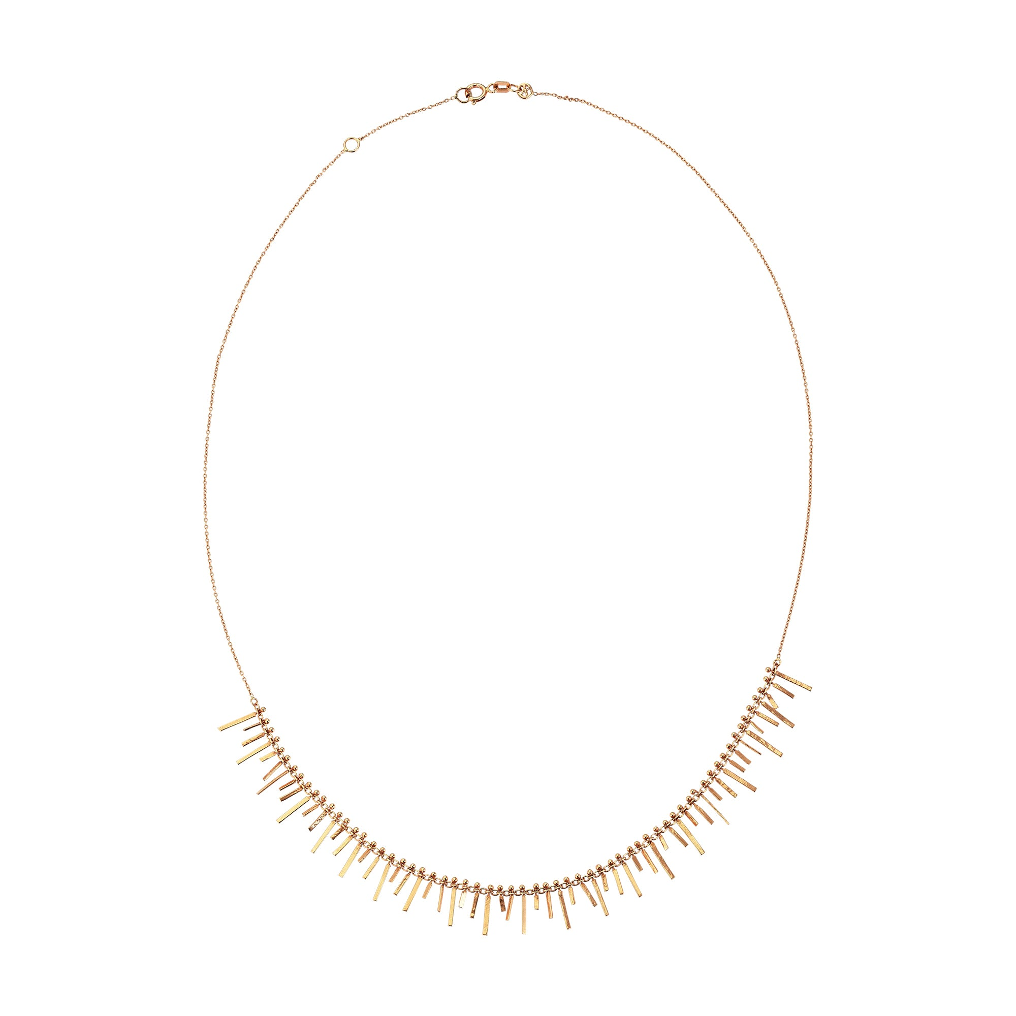 Tassel Necklace by Kismet for Broken English Jewelry