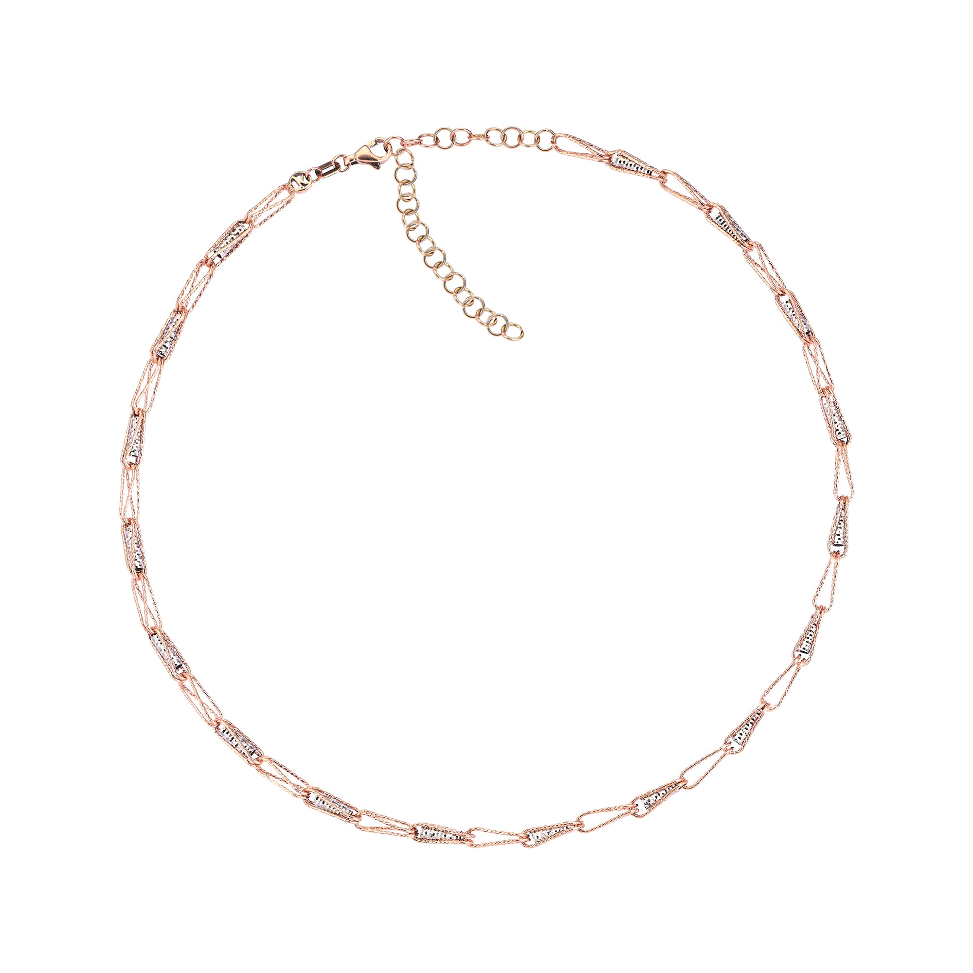 Sparkling Clips Choker by Kismet for Broken English Jewelry