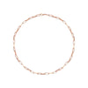 Rectangle Chain Necklace by Kismet for Broken English Jewelry