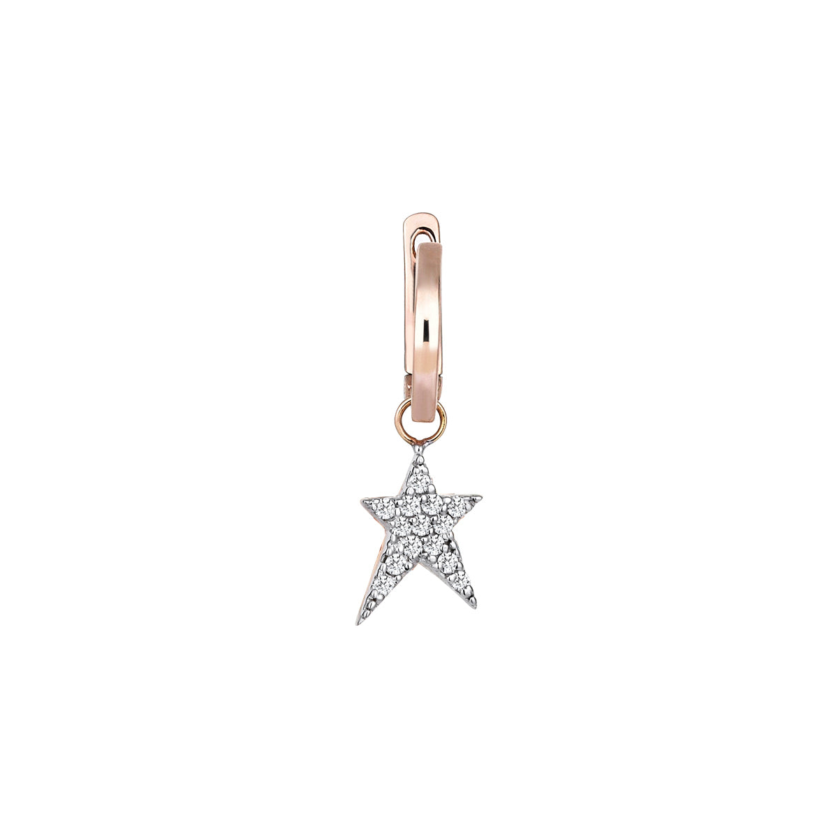 Struck Star Hoop by Kismet for Broken English Jewelry