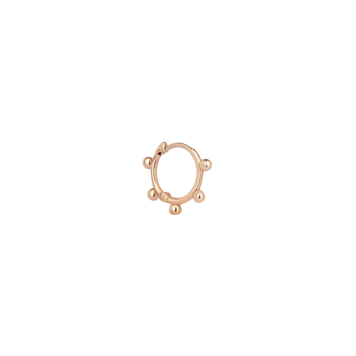 5 Balls Mini Hoop by Kismet for Broken English Jewelry