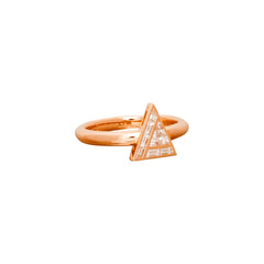 Diamond Triangle Ring by Kavant & Sharart for Broken English Jewelry