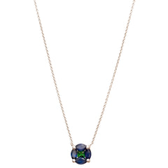 GeoArt Sapphire Puzzle Necklace by Kavant & Sharart for Broken English Jewelry