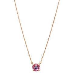 GeoArt Pink Sapphire Puzzle Necklace by Kavant & Sharart for Broken English Jewelry