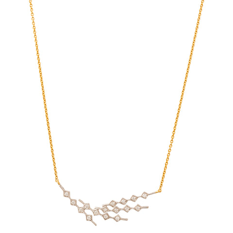 Constellation 4 Diamond Necklace by Kavant & Sharart for Broken English Jewelry