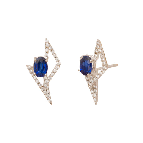 GeoArt DUO Stud Earrings by Kavant & Sharart for Broken English Jewelry