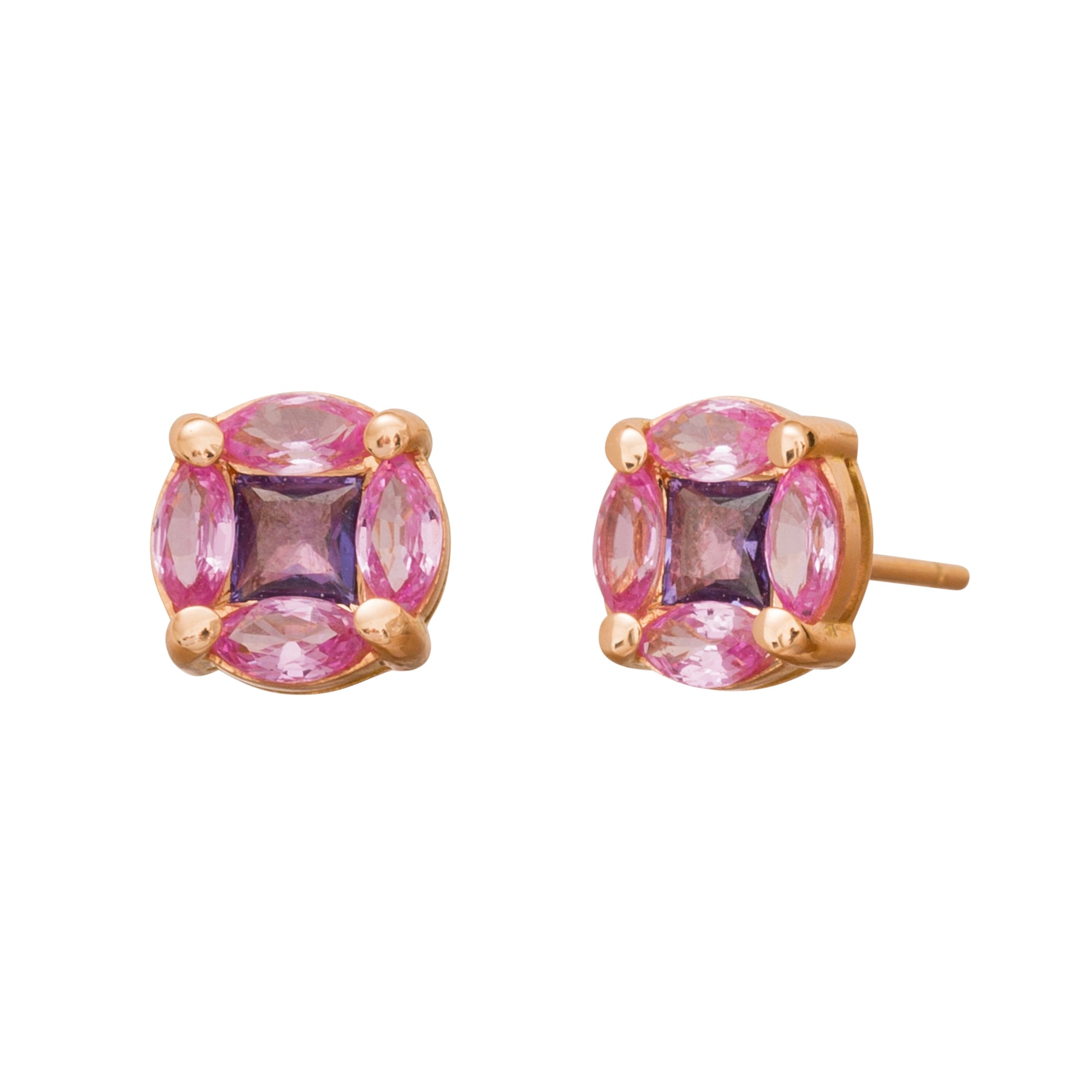 GeoArt Puzzle Stud Earrings by Kavant & Sharart for Broken English Jewelry