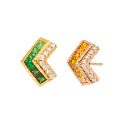 Multi Colored Earrings by Kavant & Sharart for Broken English Jewelry
